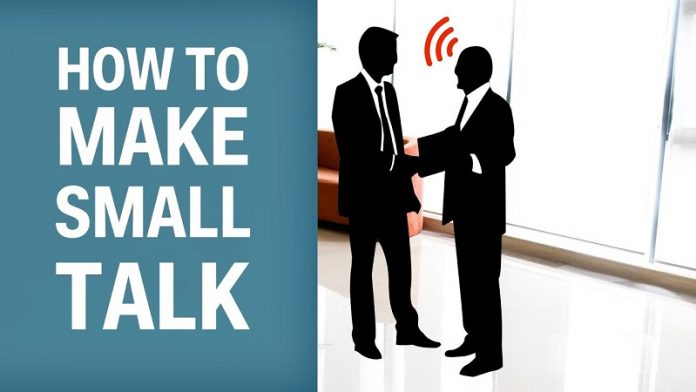How to make a small talk
