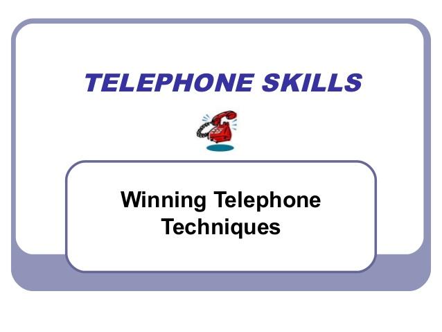 Best telephone skills