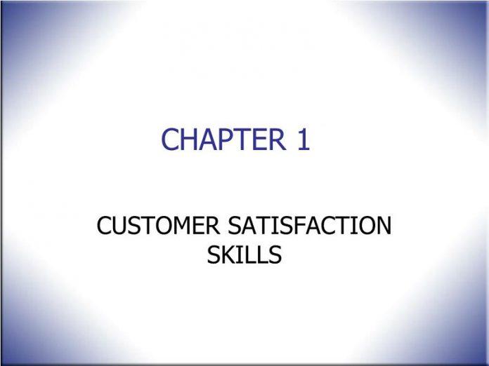Customer Satisfaction Skills part -
