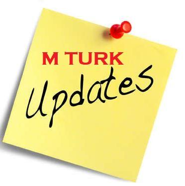 Mturk Updates