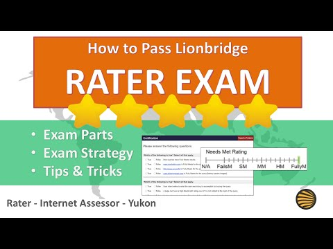 lionbridge internet assessor exam answers