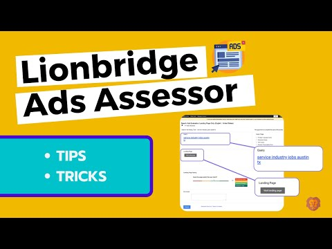 Lionbridge ad assessor tips